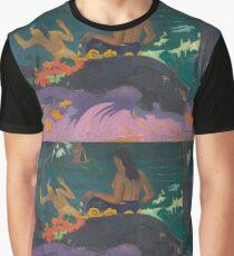 Paul Gauguin - Fatata te Miti By the Sea . Seascape Graphic T-Shirt