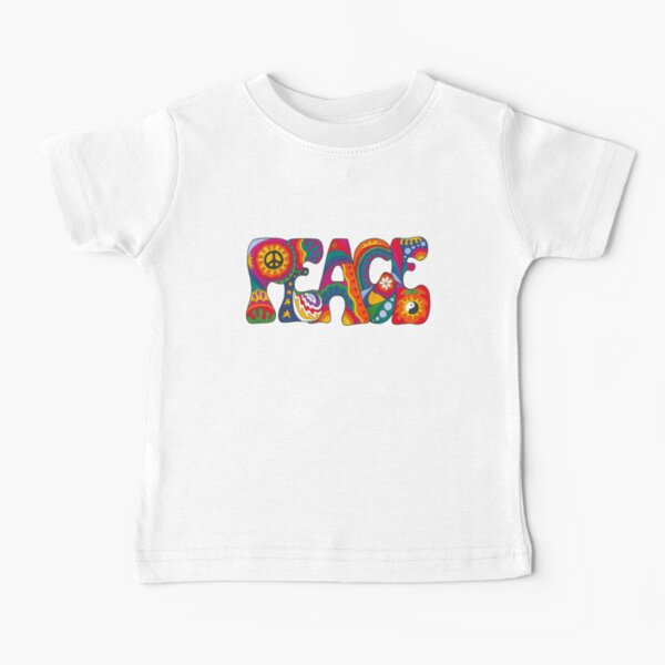 Psychedelic Peace Baby T-Shirt