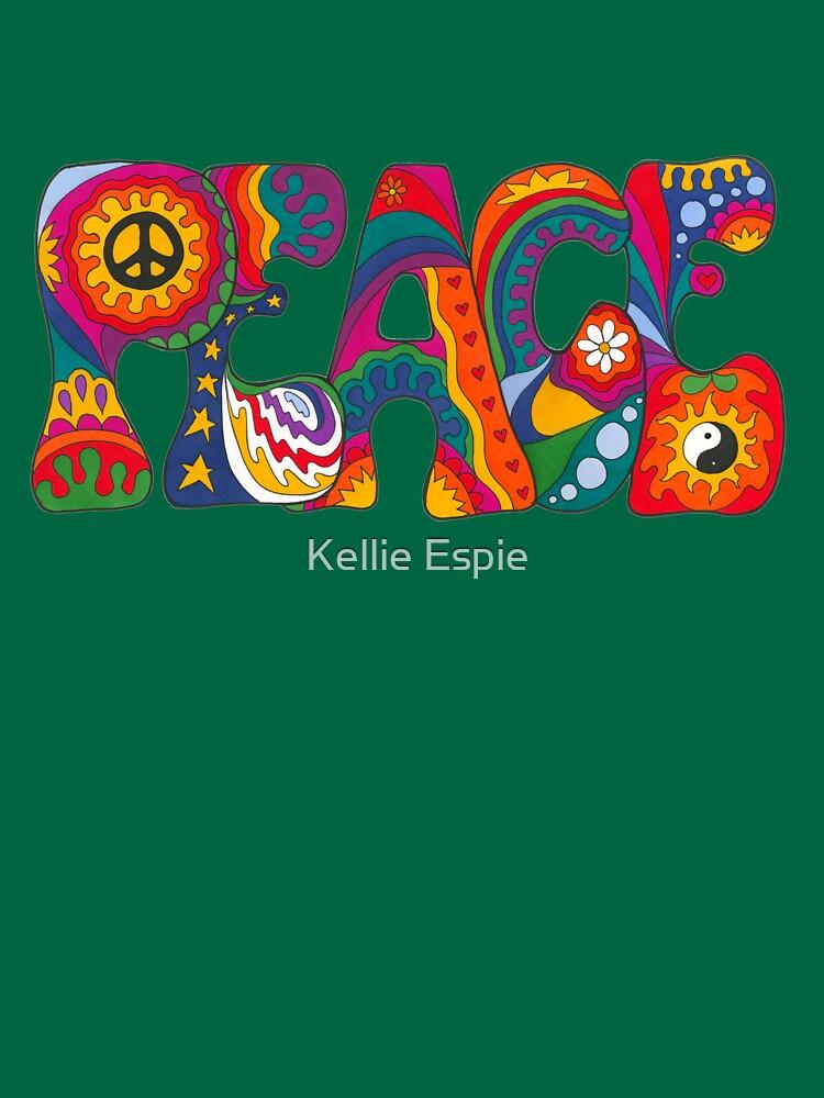 Psychedelischer Frieden von kelkel66