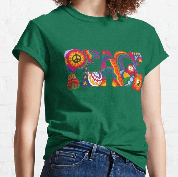 Paz psicodélica Camiseta clásica