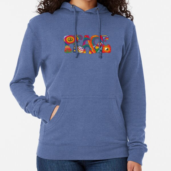 Psychedelic Peace Lightweight Hoodie