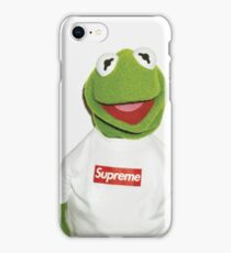 Kermit the Frog Box Logo iPhone Case/Skin