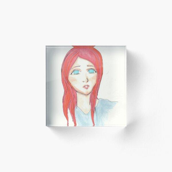Mandarin Acrylic Block