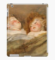 Peter Paul Rubens - Two Sleeping Children  iPad Case/Skin
