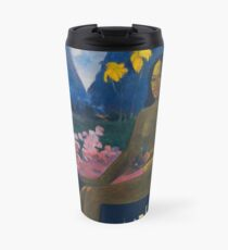 Paul Gauguin - The Seed of the Areoi  Travel Mug