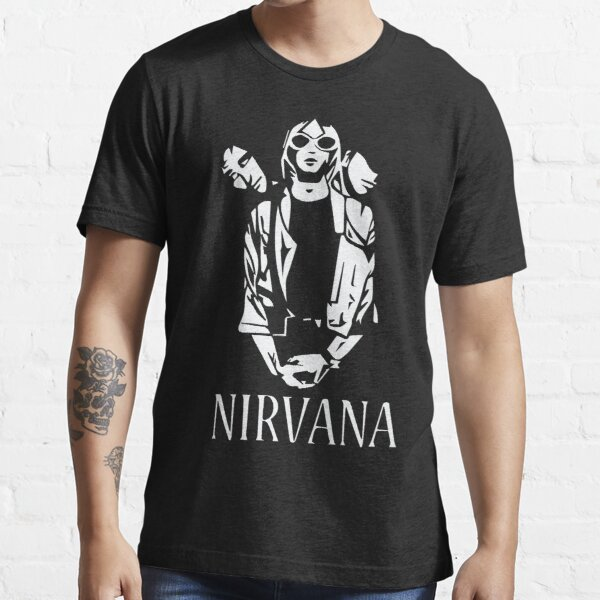 Nirvana Monochrome Essential T-Shirt