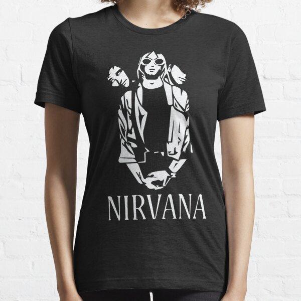 Nirvana monocromo Camiseta esencial