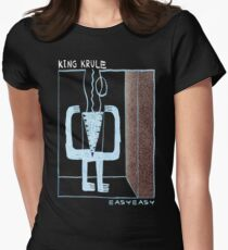 King Krule Easy Easy Women's Fitted T-Shirt