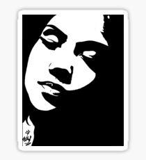 Jhene Aiko The Worst Marker Drawing Art Sticker
