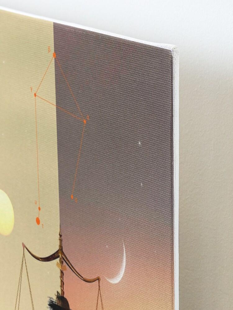 Alternate view of Libra - Digital Collage Mounted Print