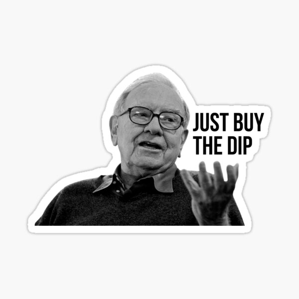 Buffet says buy the dip Sticker