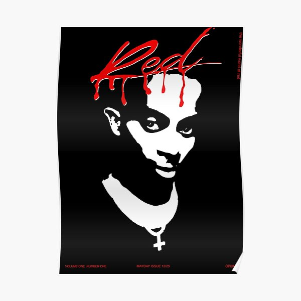 Whole Lotta Red, Carti Poster