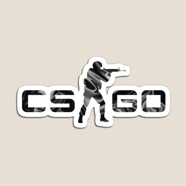 CSGO Black Laminate Magnet