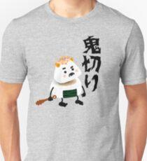 Onigiri Demon (Oni) Cut (Giri) In Half! Unisex T-Shirt