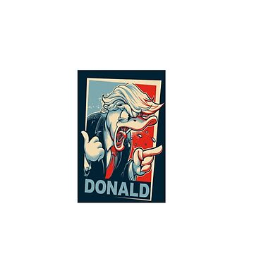 Donald Trump - Donald duck by Juaco
