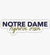 University of Notre Dame Sticker