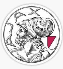Ajax Amsterdam Football Sticker Sticker