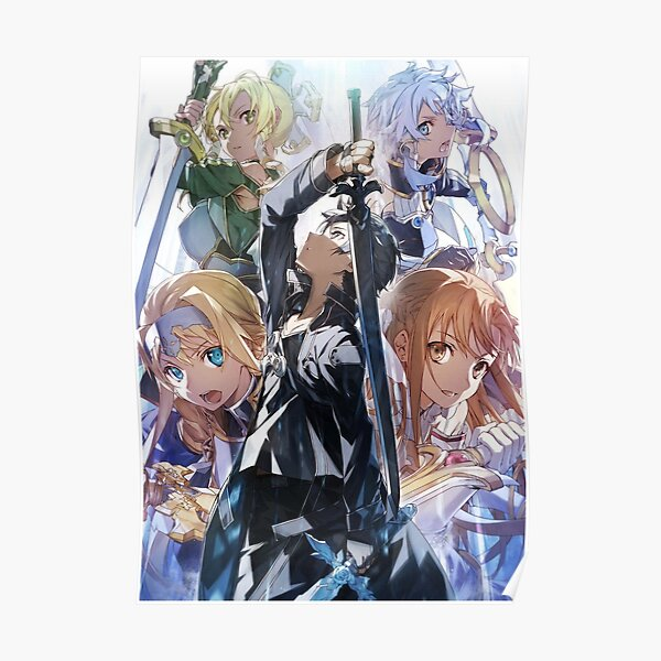 Sword Art Online Alicization Light Novel Poster