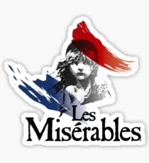 Les Mis Love Sticker