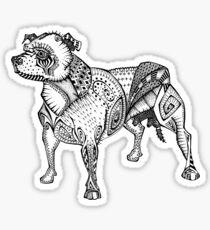 Staffie #2 Sticker