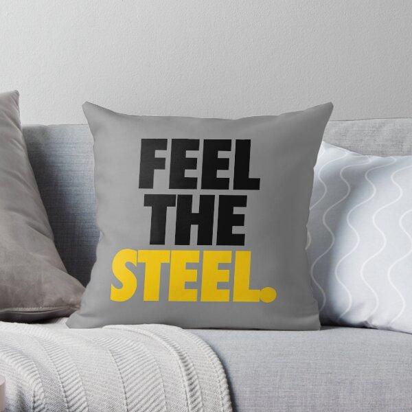 FEEL THE STEEL. - Alternate Throw Pillow