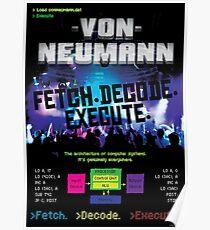 Von Neumann Architecture: Mock Band Tour Poster Poster