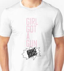 TOKIO HOTEL - GIRL GOT A GUN Unisex T-Shirt