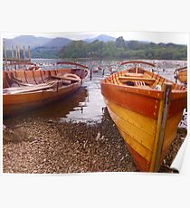 Row Boats Poster