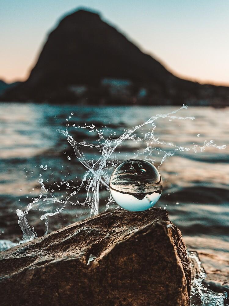 Ocean water droplet - Funny  by BlackRhino1