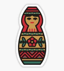 Russian Doll Sticker