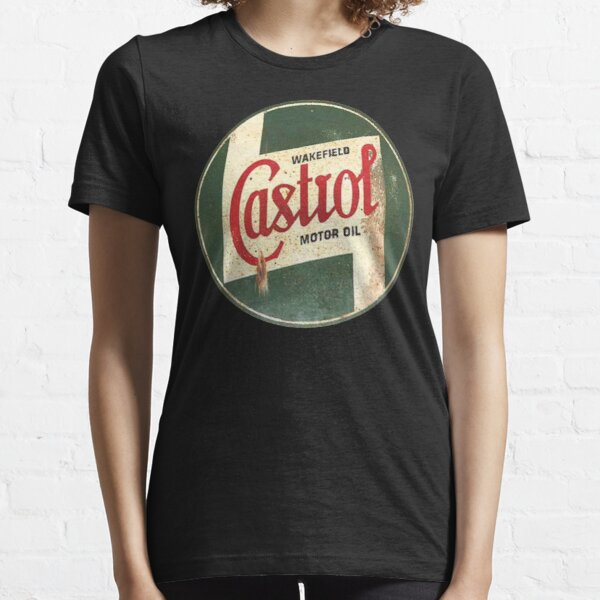 Castrol Vintage Rustic Classic Sign T-Shirt, Hoodie, Sticker, Mask Essential T-Shirt