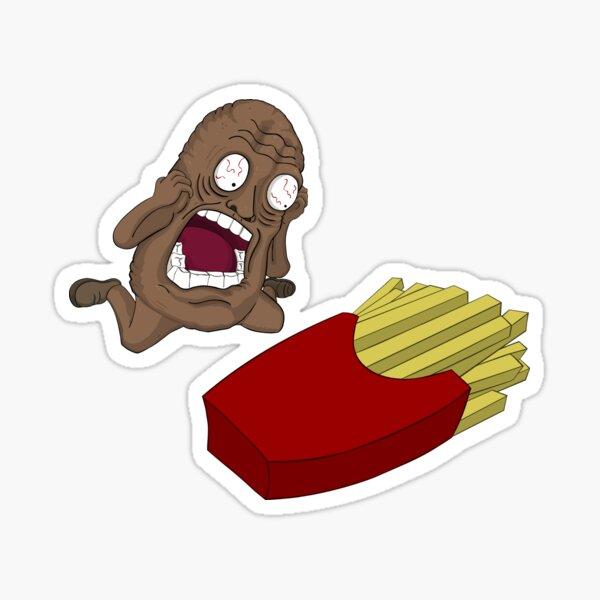 Tragic Potato Sticker