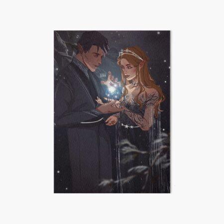 A Winter Solstice Birthday Art Board Print