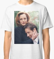 dana scully x files fox mulder Classic T-Shirt