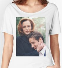 dana scully x files fox mulder Women's Relaxed Fit T-Shirt