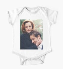 dana scully x files fox mulder One Piece - Short Sleeve