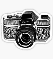 Photography camera Sticker