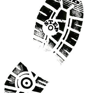 Dub Step Footprint by Bradsite