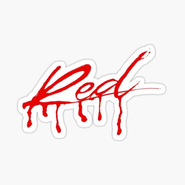 whole lotta red logo Sticker