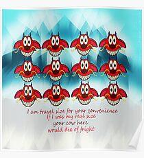 mushu emoji Poster