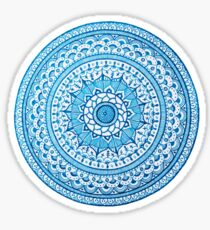 Blue Mandala Sticker