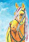 Yellow Horse by Juhan Rodrik