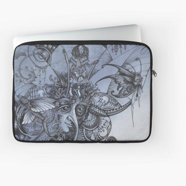 Blue Butterfly Laptop Sleeve
