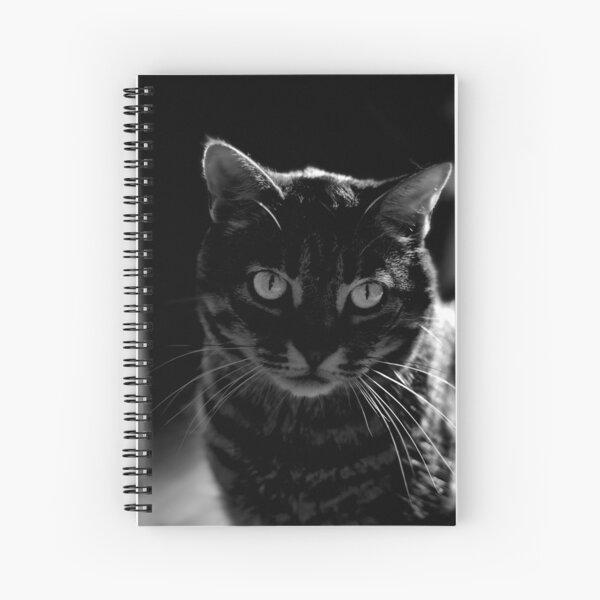 Sinister Feline Spiral Notebook