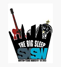 The Big Sleep SXSW 2012 Photographic Print