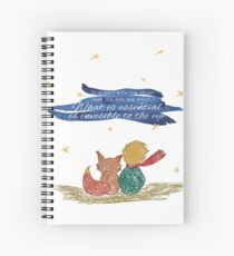 What is essential is invisible to the eye Spiral Notebook