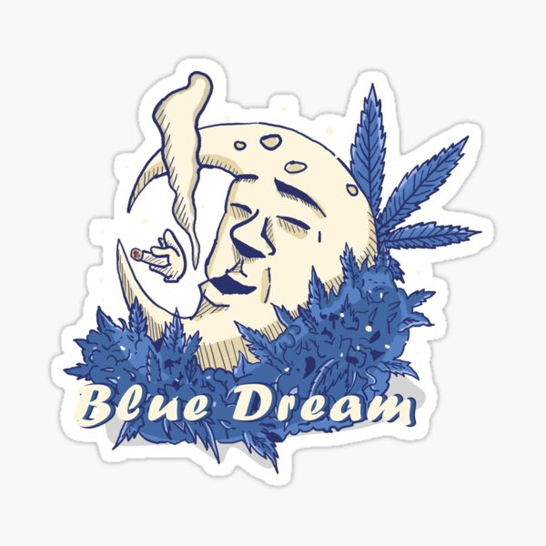 Blue Dream Weed Strain Sticker