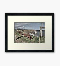 North Landing, Flamborough, Yorkshire Framed Print