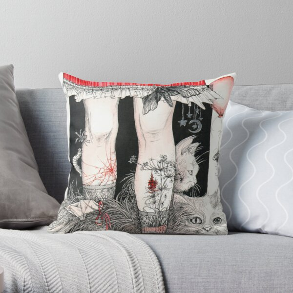 Legs Throw Pillow