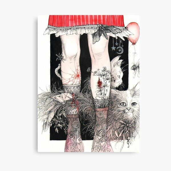 Legs Canvas Print